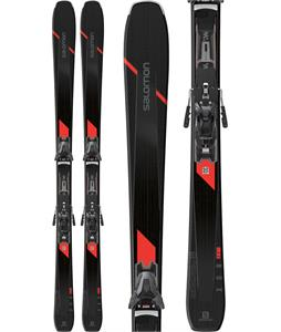 Salomon XDR 80 Ti Skis w/ Z12 GW Bindings