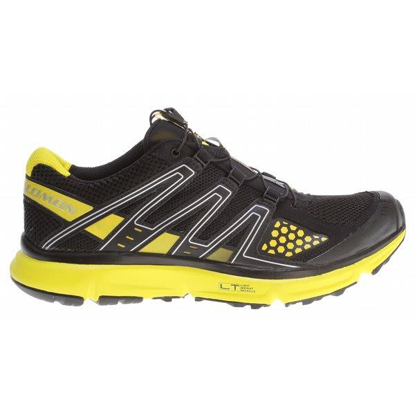 Salomon Xr Mission Hiking Shoes Black / Black / Canary Yellow U.S.A. & Canada