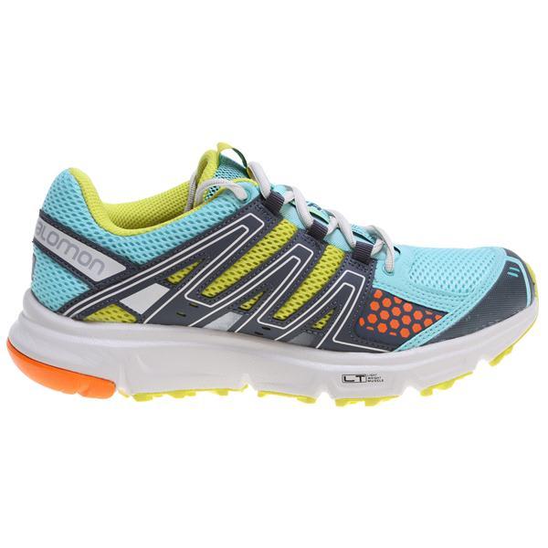 Salomon Xr Shift Hiking Shoes Topaz Blue / Mimosa Yellow / Light Grey U.S.A. & Canada