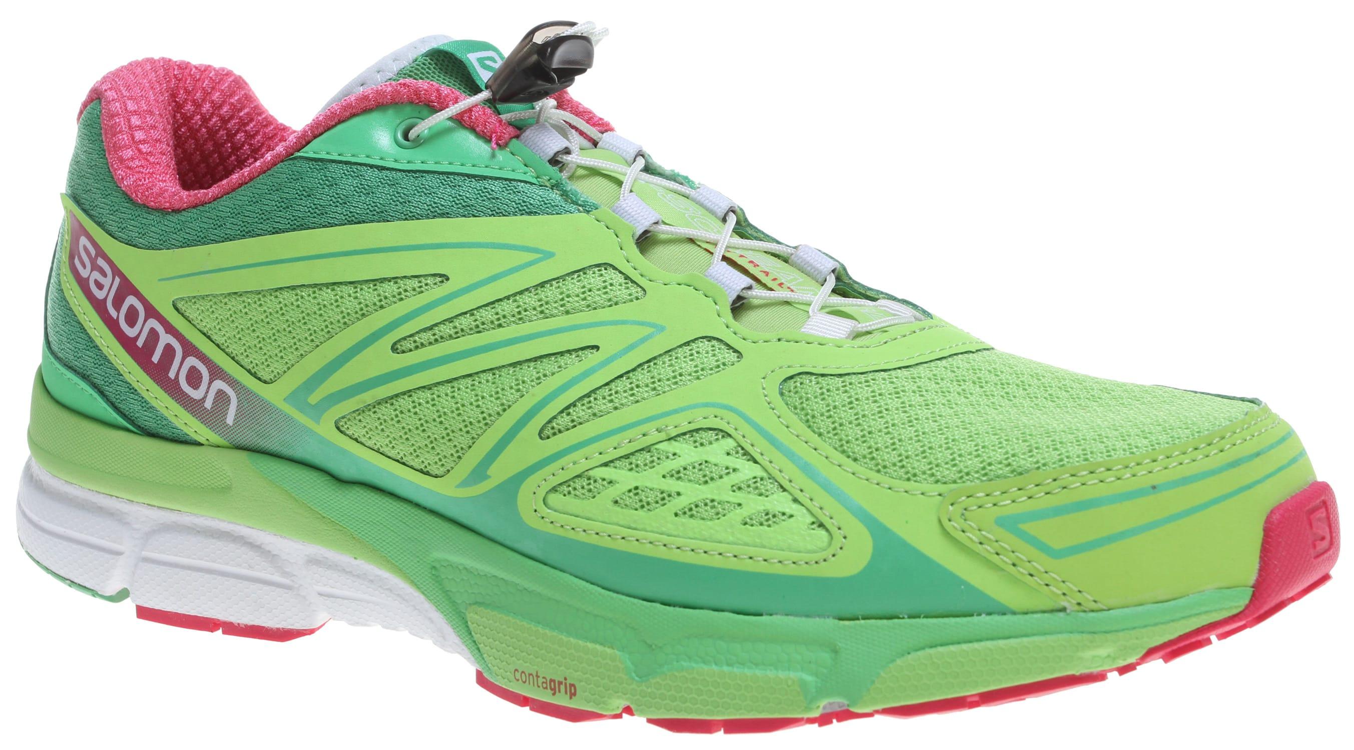 Salomon X Scream Wasabi Running Shoes
