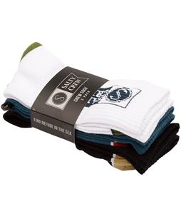 Salty Crew Alpha 3-Pack Socks