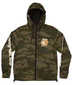 Salty Crew Bait And Tackle Windbreaker Jacket