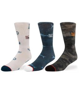 Salty Crew Cruiser 3-Pack Socks
