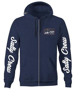 Salty Crew Frenzy Zip Fleece Hoodie