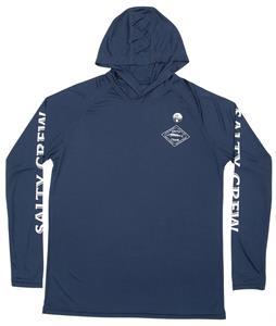 Salty Crew Hotwire Pinnacle Hooded L/S Rashguard