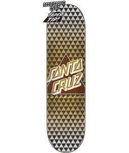 Santa Cruz Not A Dot Taper Tip Skateboard Deck