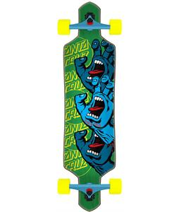 Santa Cruz Screaming Hand Stack Drop-Thru Longboard Complete