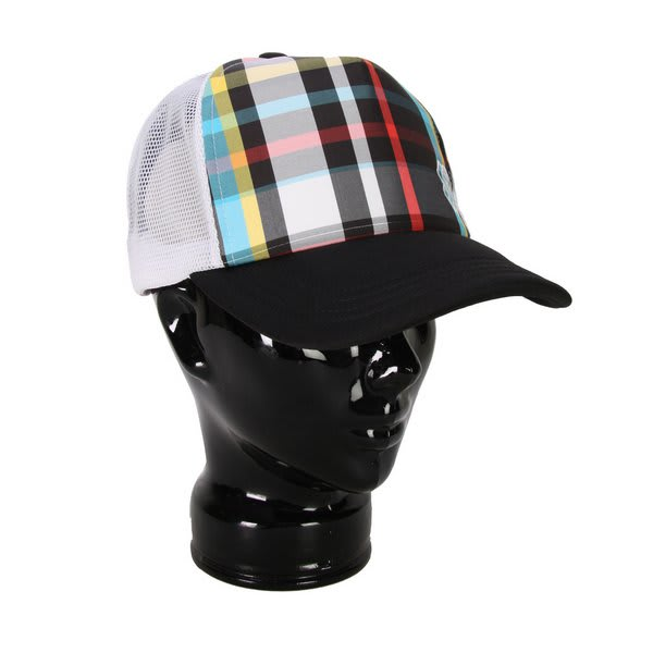 Special Blend Glam Plaid Trucker Hat U.S.A. & Canada