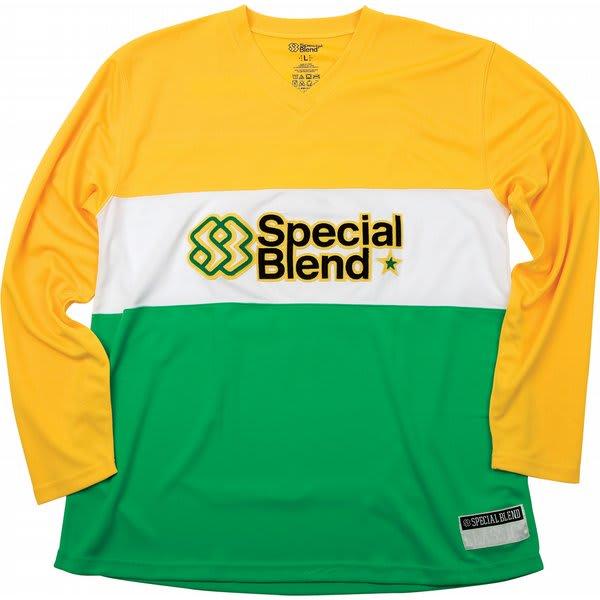Special Blend Long Sleeve Jersey Baselayer Top Burst U.S.A. & Canada