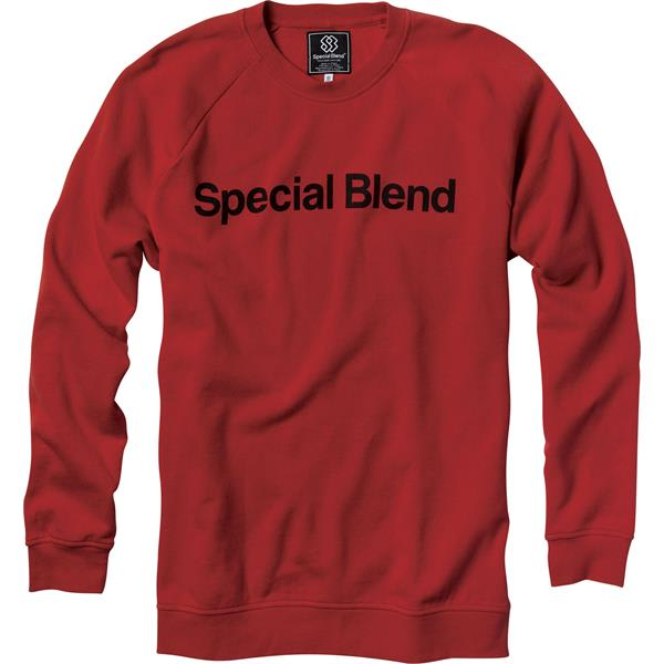 Special Blend Model Sweatshirt Red Rum U.S.A. & Canada