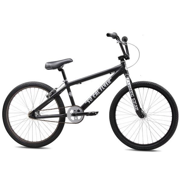 Se So Cal Flyer Bmx Bike Matte Black 24In U.S.A. & Canada
