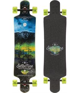 Sector 9 Midnight Faultline Longboard Complete