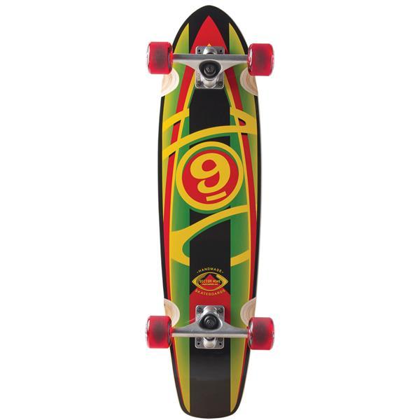 Sector 9 Baseline Mini Longboard Complete Rasta U.S.A. & Canada