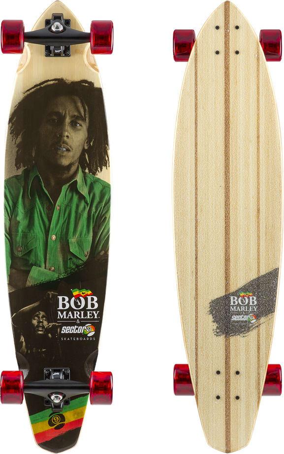 Sector 9 Exodus Bob Marley Longboard Complete 2018 Longboard Sector 9 Bob Marley