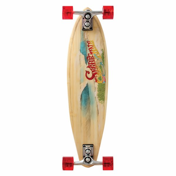Sector 9 Puerto Rico Bamboo Longboard Complete U.S.A. & Canada