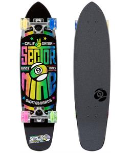Sector 9 Wedge Glo Wheel Cruiser Complete