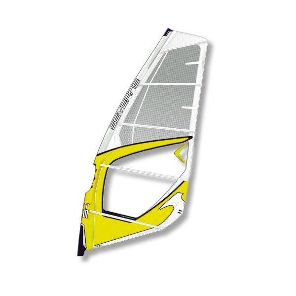 Severne S1 Windsurf Sail 4 7 White / Yellow U.S.A. & Canada