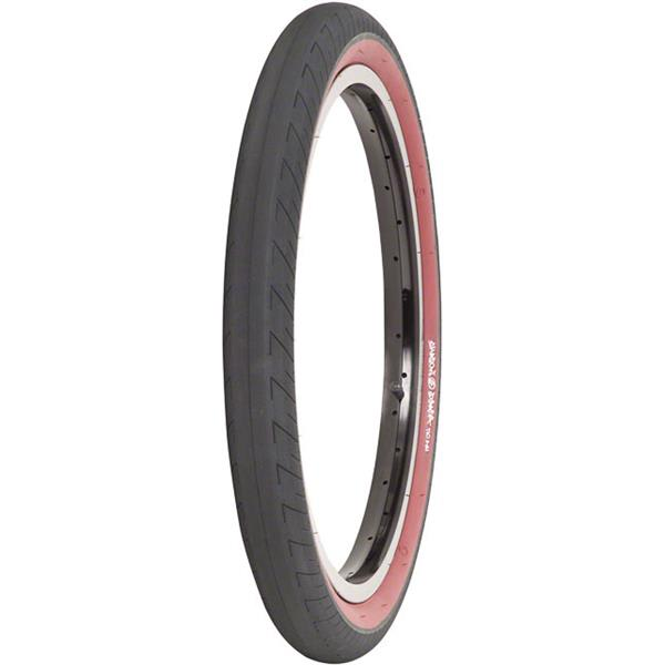 The Shadow Conspiracy Strada Bmx Tire Black / Red Siewall 20 X 2 3In U.S.A. & Canada