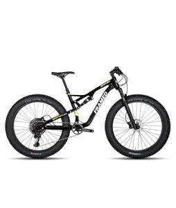 Framed Beartrax Carbon Nx Eagle 1X12 Full Suspension Fat Bike w/ 27.5 Alloy Wheels Black/Green