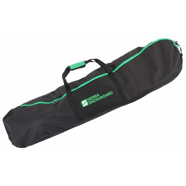 Sierra Logo Snowboard Bag Black / Green 166 U.S.A. & Canada