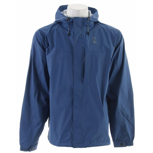 Sierra Designs Hurricane Hp Shell Jacket True Blue U.S.A. & Canada