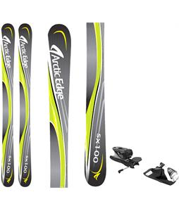 Arctic Edge SX100 SB Twin Camrock Skis w/ Look NX 12 Dual WTR Bindings