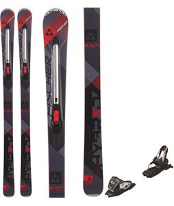 Fischer Hybrid 8.5 Ti Skis w/ Marker 10.0 TP Bindings