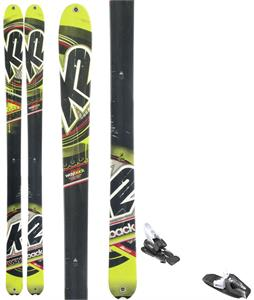 K2 Wayback Skis w/ Tyrolia RX 12 Bindings