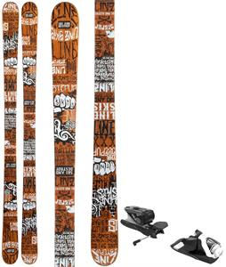 Line Stepup Skis w/ Look NX 12 Dual WTR Bindings