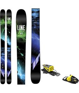 Line Supernatural 92 Skis w/ Look NX 11 Bindings