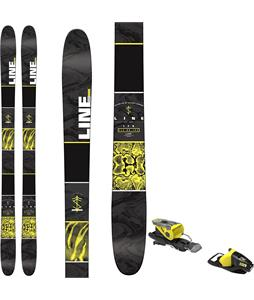 Line Tigersnake Skis w/ Look NX 11 Bindings