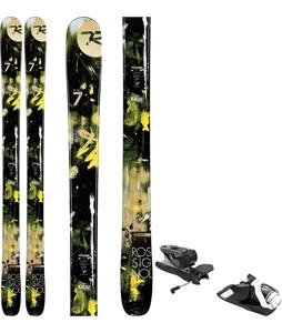 Rossignol Smash 7 Skis w/ Look NX 12 Dual WTR Bindings