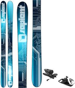 Sapient Voltage TT1 Camrock Skis w/ Look NX 12 Dual WTR Bindings