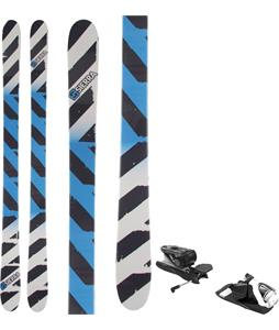 Sierra TT1 V2 Skis w/ Look NX 12 Dual WTR Bindings