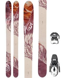Fischer Koa 110 Skis w/ Fischer Attack 11 w/ Brake Bindings