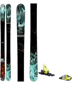 K2 Empress Skis w/ Look NX 11 Bindings