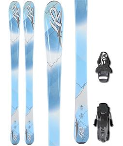 K2 Luna Skis w/ Fischer RS10 Bindings