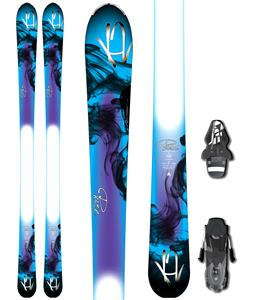 K2 Pure Skis w/ Fischer RS10 Bindings