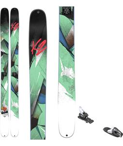 K2 Remedy 102 Skis w/ Tyrolia RX 12 Bindings