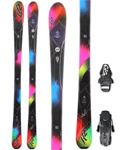 K2 Superburnin Skis w/ Fischer RS10 Bindings
