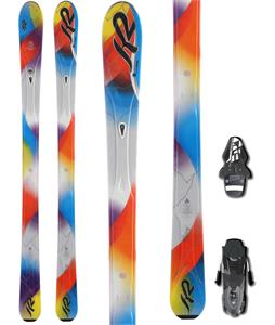 K2 Superstitious Skis w/ Fischer RS10 Bindings