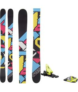 Teton Allure Rocker Skis w/ Look NX 11 Bindings