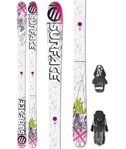 Surface My Time Skis w/ Fischer RS10 Bindings