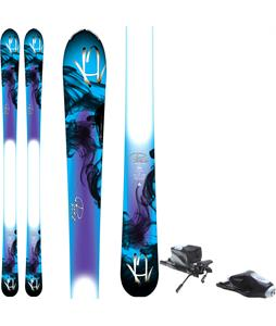 K2 Pure Skis w/ Rossignol Comp J Bindings