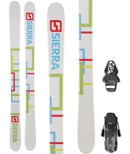 Sierra SB Twin Camrock Skis w/ Fischer RS10 Bindings