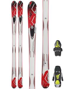 K2 A.M.P. Force Skis w/ Fischer FJ7 AC Bindings