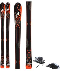 K2 Bolt Jr. Skis w/ Rossignol Comp J Bindings