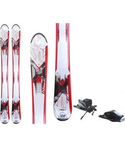 K2 Strike Jr Skis w/ Rossignol Comp J Bindings