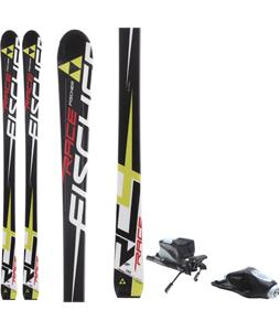 Fischer RC4 Race Jr. Skis w/ Rossignol Comp J Bindings