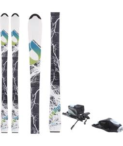 Fischer Watea Jr. Skis w/ Rossignol Comp J Bindings